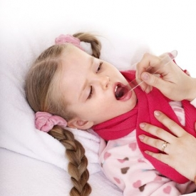 ангина,ребенок,лечение,боль в горле