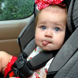 Путешествие с ребенком в машине