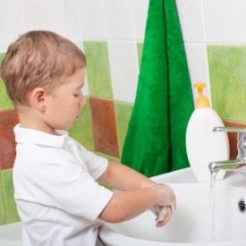 мыть руки,научить мыть руки,приучить муть руки без напоминаний