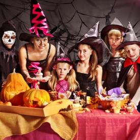 Хэллоуин,леденцы,декор,сладости