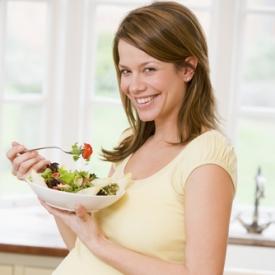 здоровое питание беременной