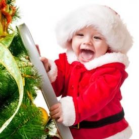 Новый год,Новый год с грудничком,Новый год с ребенком