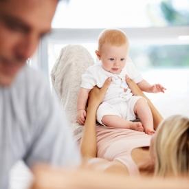 папа,ребенок и папа