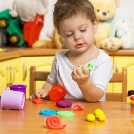 лепка с ребенком,приемы,что можно лепить,как научить малыша