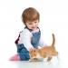 кошка,домашнее животное,дети,новорожденный,видео,смешное детское видео