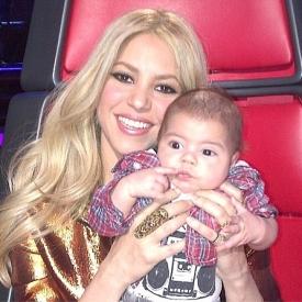 Шакира,сын Шакиры,фото,дети звезд