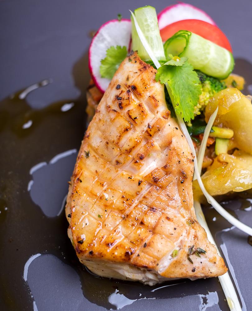 рыба блюдо