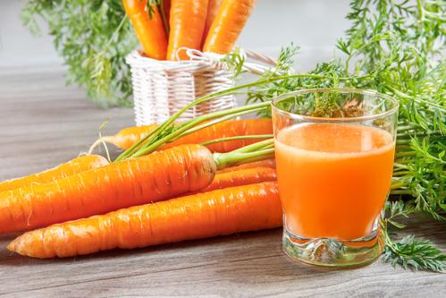 Здоровье глаз: морковь
