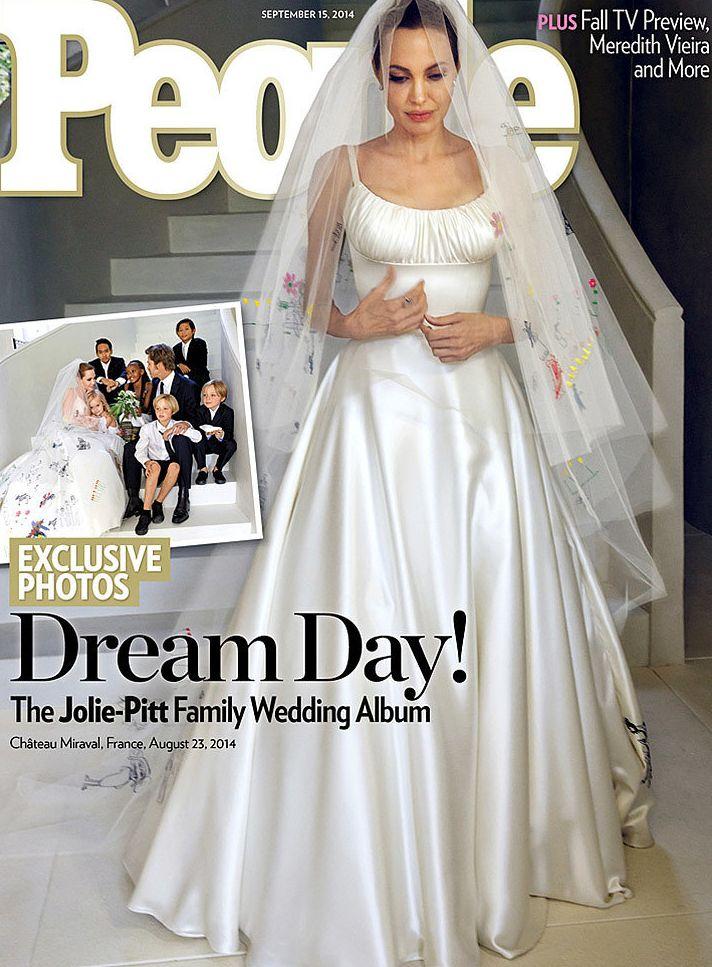 Анджели Джоли свадьба