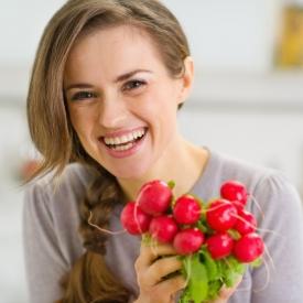 польза редиса, диета на редисе