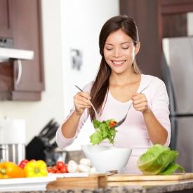 польза витаминных салатов, овощные витаминные салаты