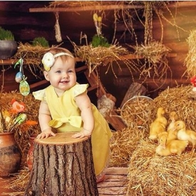пасхальная фотосессия, фотосессия для ребенка