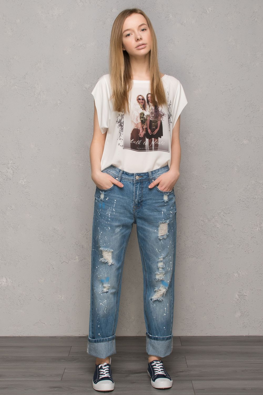 джинсы бойфренды