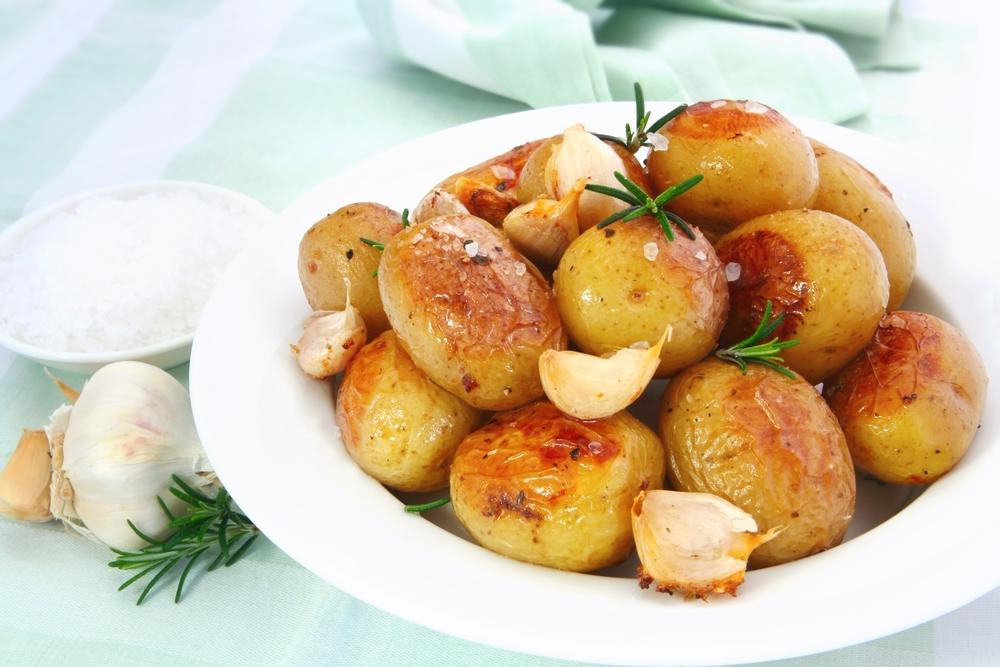 Гипертония: полезные продукты - картофель