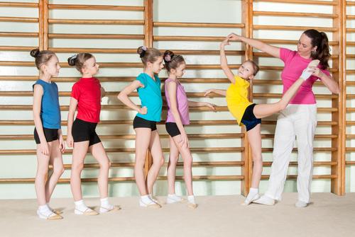 Девочки гимнастки
