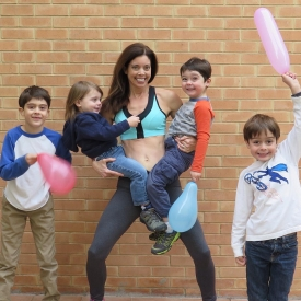фитнес,спорт,развлечения с детьми,занятия спортом