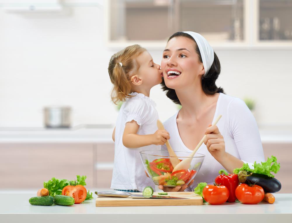 готовить с ребенком
