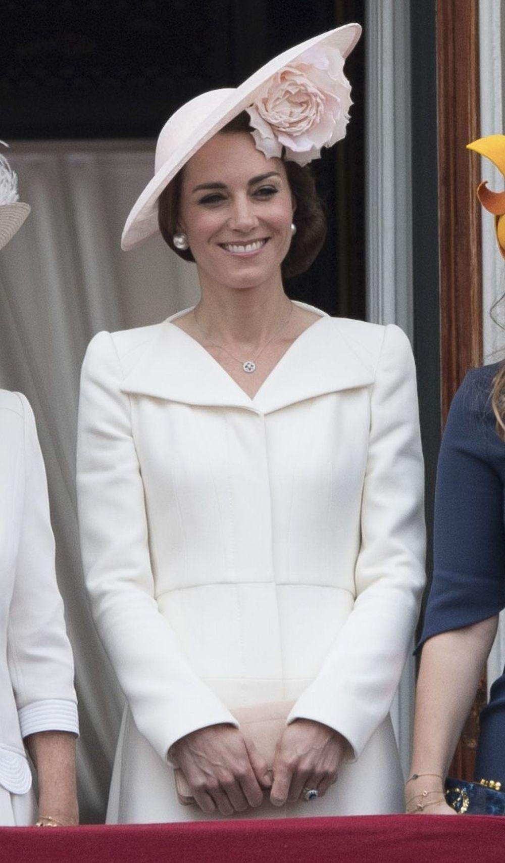 Catherine Duchess of Cambridge, Princess Charlotte of Cambridge, Prince George and Prince William