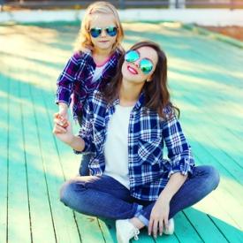 стильная мама,отпуск с ребенком