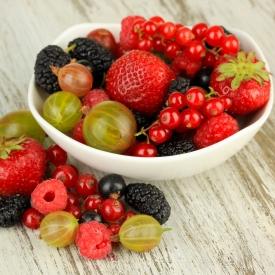 полезные ягоды, летние ягоды