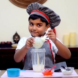 ребенок-блогер,видео,рецепты