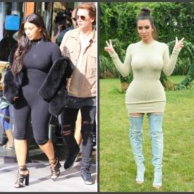 Ким Кардашьян,правила похудения