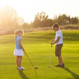 спорт для ребенка,гольф