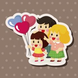 счастливая семья,дети,счастье