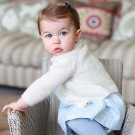 Кейт Миддлтон, принцесса Шарлотта, принц Уильям, Елизавета II, принц Георг
