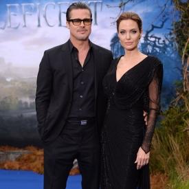 Анджелина Джоли и Брэд Питт,звездная семья