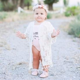 Кинсли Райан, стильный ребенок, юная модница, популярность малышки, девочка из Америки Кинсли Райан