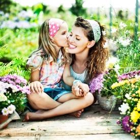воспитание,развитие,готовность к материнству