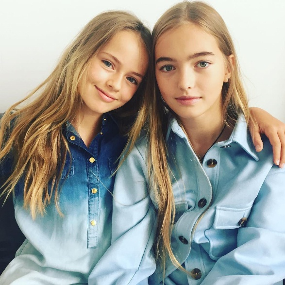 красивые юные девочки фото