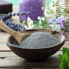полезные свойства голубой глины, польза голубой глины для кожи, природное косметическое средство, польза глины для кожи рук и ног