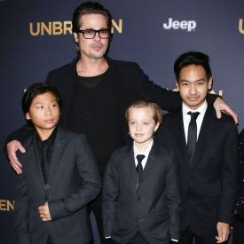 дети Анджелины Джоли и Брэда Питта,звездные разводы