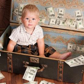 дети и деньги,счастье