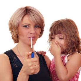 почему нельзя курить,в чем опасность курения при детях,пассивное курение опасность
