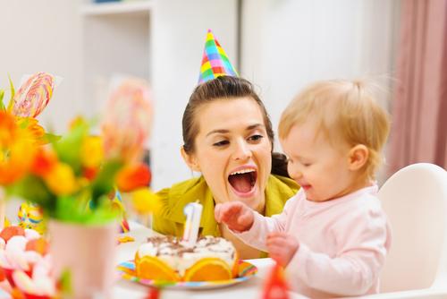 день рождения малышки