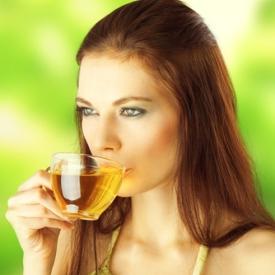 зеленый чай, напиток, популярный напиток