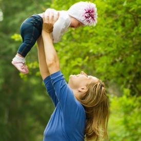детский фитнес,физическое развитие ребенка до года