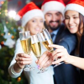 как пить шампанское,блюда новогоднего стола