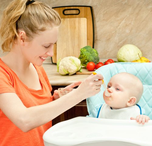 Детское питание: зелень