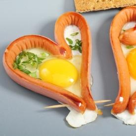 завтрак,яичница,фигура
