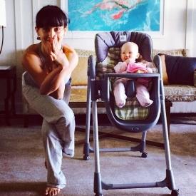 Алек Болдуин,дети звезд,звездные семьи,фото,йога