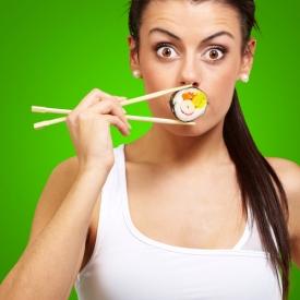 суши,опасная еда,вредные продукты,рыба,вред суши