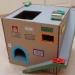 робот из коробки,как сделать робота из коробки,робот из картонной коробки