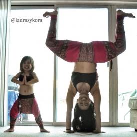 йога,чем занять ребенка,спорт,фото