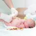 пупок новорожденного,уход за пупком,уход за новорожденным