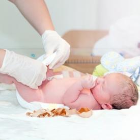 пупок,новорожденный,уход