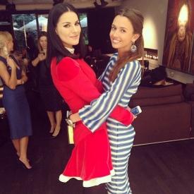 Маша Ефросинина,Лиза Ющенко,фото,украинские звезды